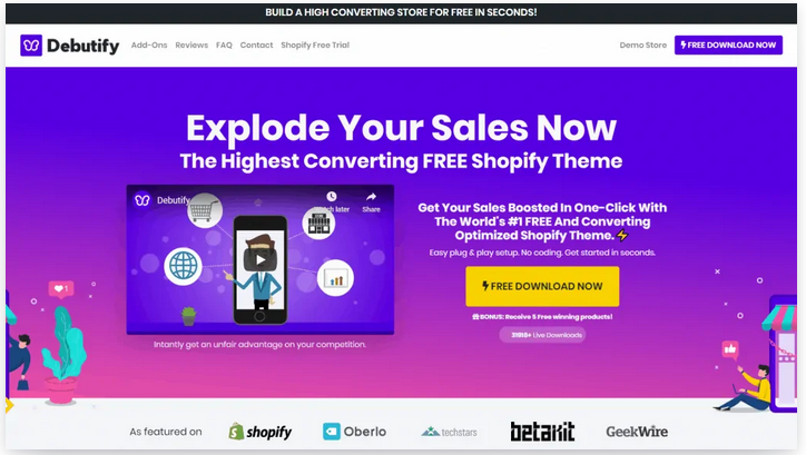 shopify dropshipping themes