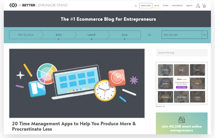 dropshipping and ecommerce blogs